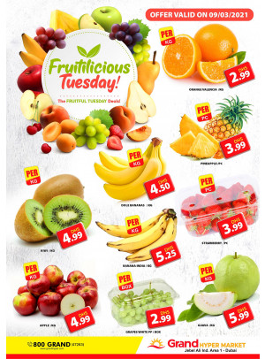 Fruitilicious Tuesday - Grand Hypermarket Jebel Ali