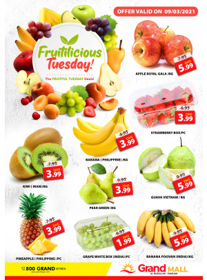 Fruitilicious Tuesday - Grand Mall Sharjah