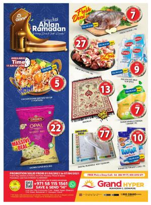 Ramadan 2021 Offers - Grand Hyper Muhaisnah