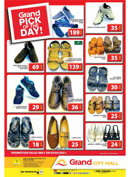 Pick of The Day - Grand City Mall