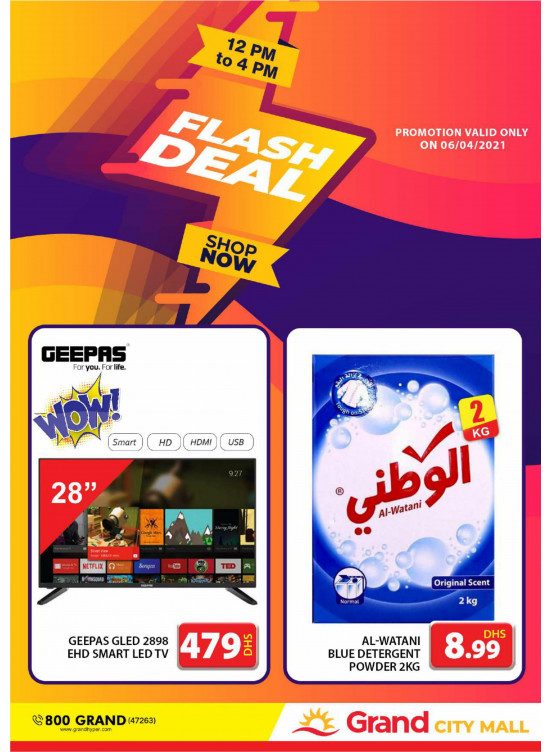 Flash Deal - Grand City Mall