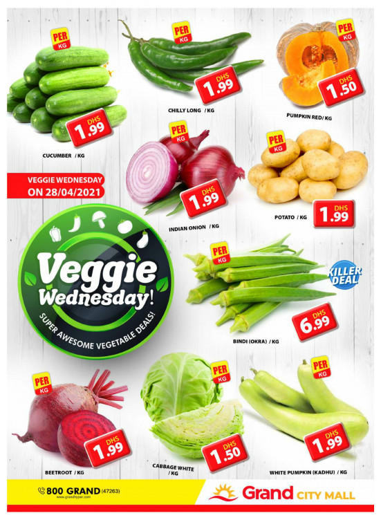 Veggie Wednesday - Grand City Mall