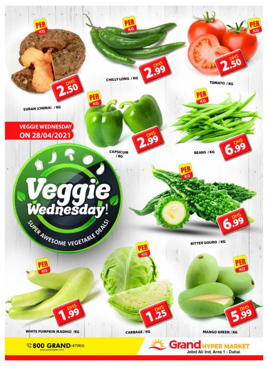Veggie Wednesday - Grand Hypermarket Jebel Ali
