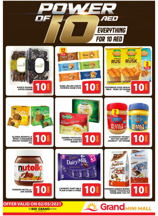 Power Of 10 AED - Grand Mini Mall
