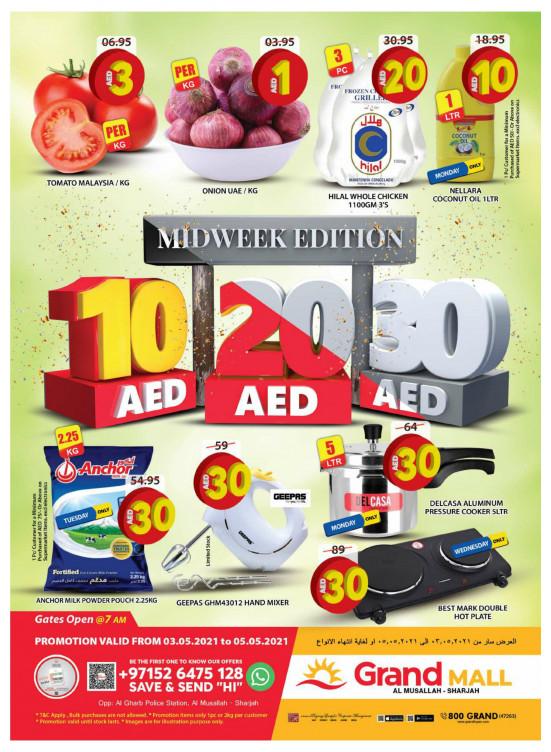 Midweek Deals - Grand Mall Sharjah