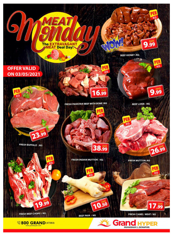 Meat Monday - Grand Hyper Muhaisnah