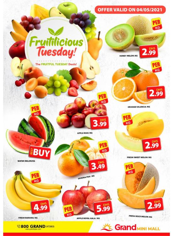 Fruitilicious Tuesday - Grand Mini Mall