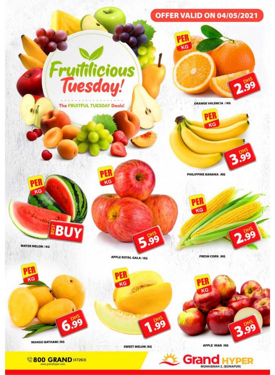 Fruitilicious Tuesday - Grand Hyper Muhaisnah