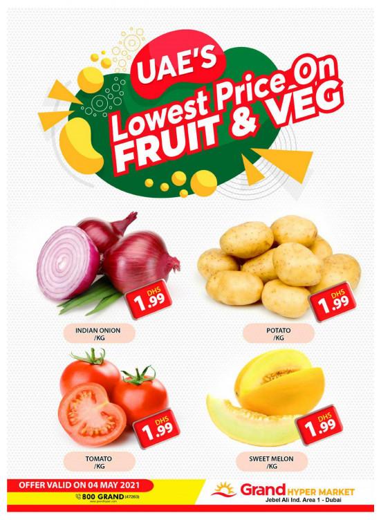Lowest Prices - Grand Hypermarket Jebel Ali