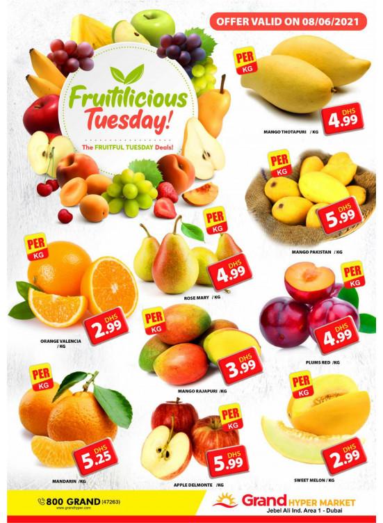Fruitilicious Tuesday - Grand Hypermarket Jebel Ali