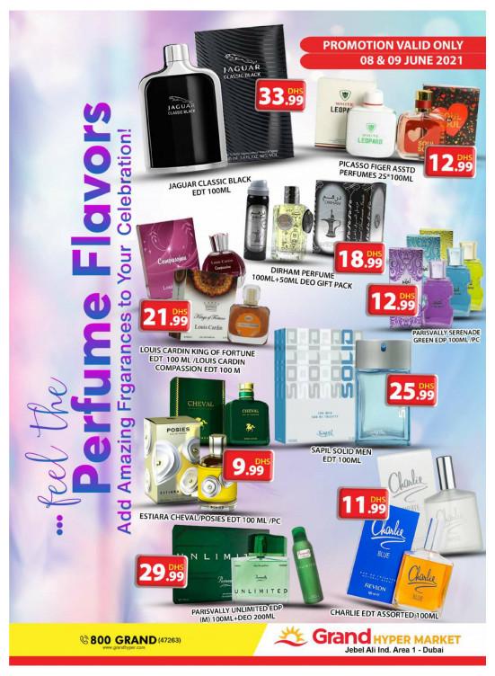 Perfumes & Detergents Offers - Grand Hypermarket Jebel Ali