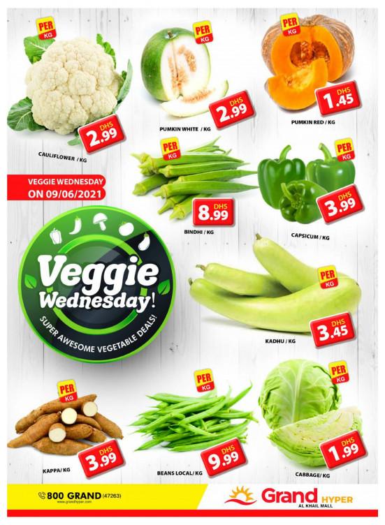 Veggie Wednesday - Grand Hyper Al khail Mall