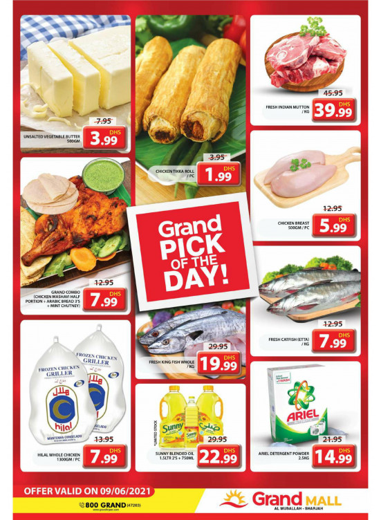 Pick of The Day - Grand Mall Sharjah