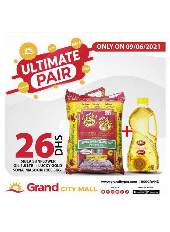 Pair Offers - Grand City Mall