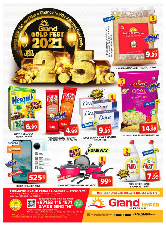 Gold Fest - Grand Hyper Al Khail Mall