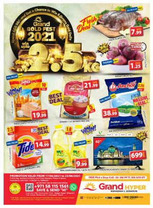 Gold Fest - Grand Hyper Muhaisnah