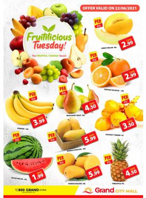 Fruitilicious Tuesday - Grand City Mall