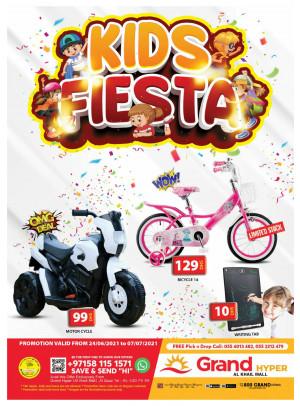 Kids Fiesta - Grand Hyper Al Khail Mall