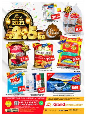 Gold Fest - Grand Hypermarket Jebel Ali