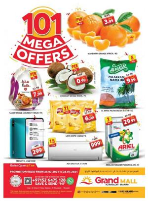 Mega Offers - Grand Mall Sharjah