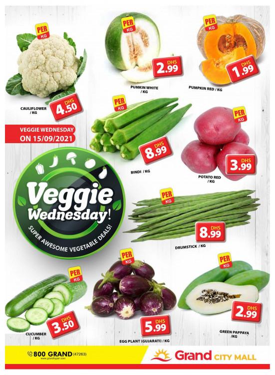 Veggie Wednesday - Grand City Mall