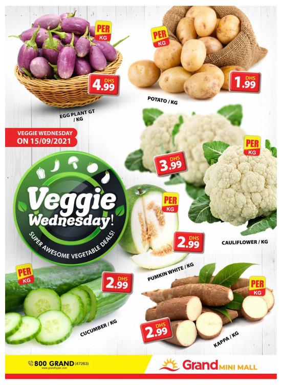 Veggie Wednesday - Grand Mini Mall