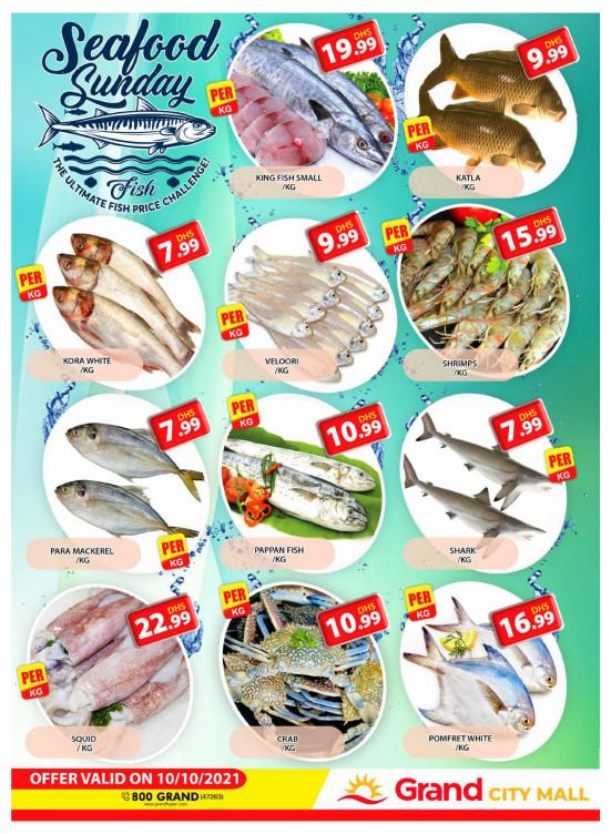 Seafood Sunday - Grand City Mall