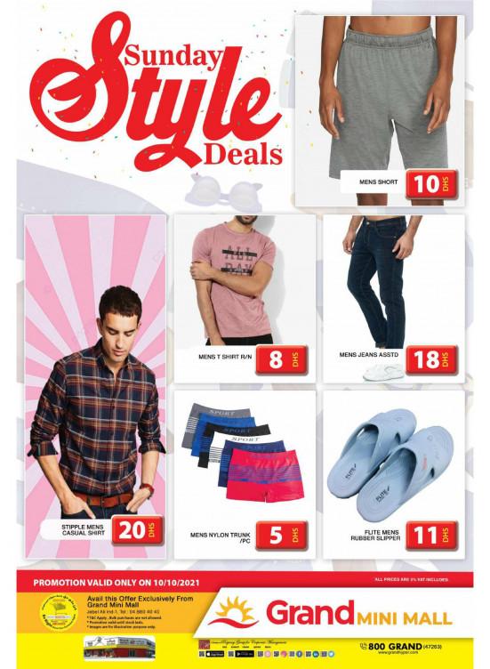 Sunday Style Deals - Grand Mini Mall