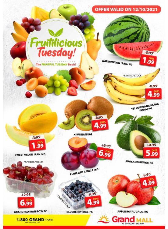 Fruitilicious Tuesday - Grand Mall Sharjah