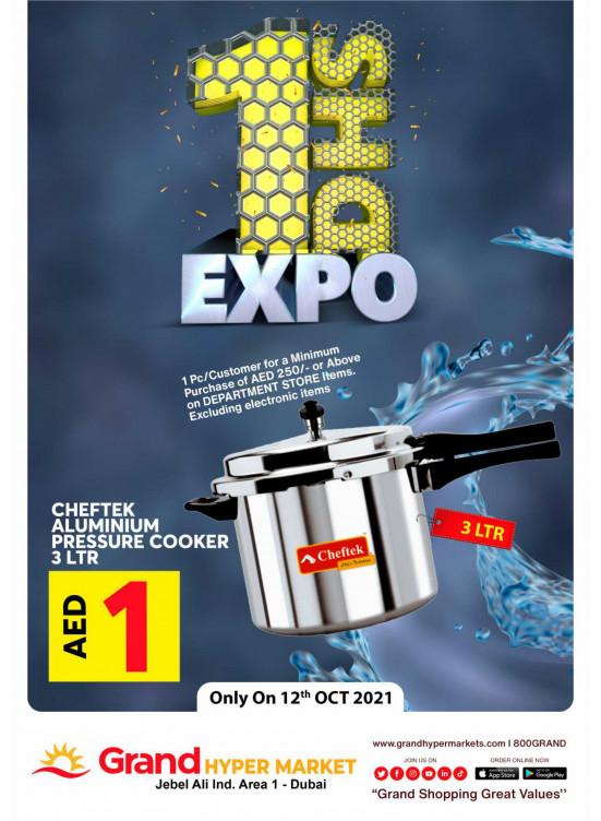 1 Dhs Expo - Grand Hypermarket Jebel Ali