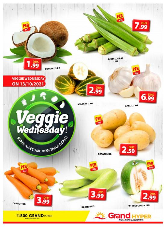 Veggie Wednesday - Grand Hyper Muhaisnah