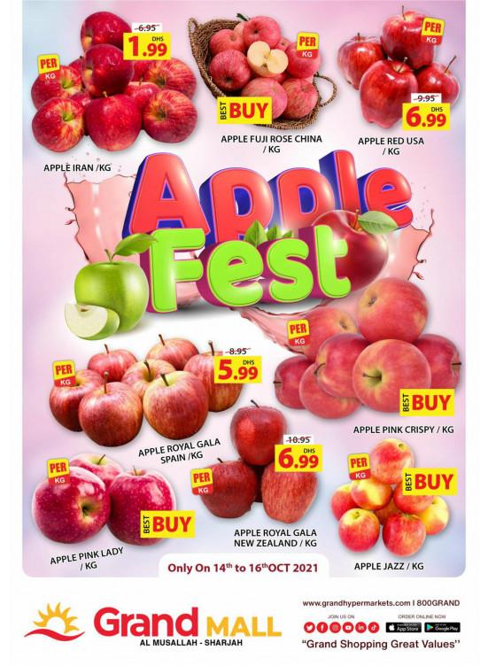Apple Fest - Grand Mall Sharjah