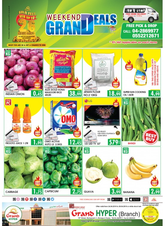Weekend Offers - Muhaisinah from Grand Hypermarket until