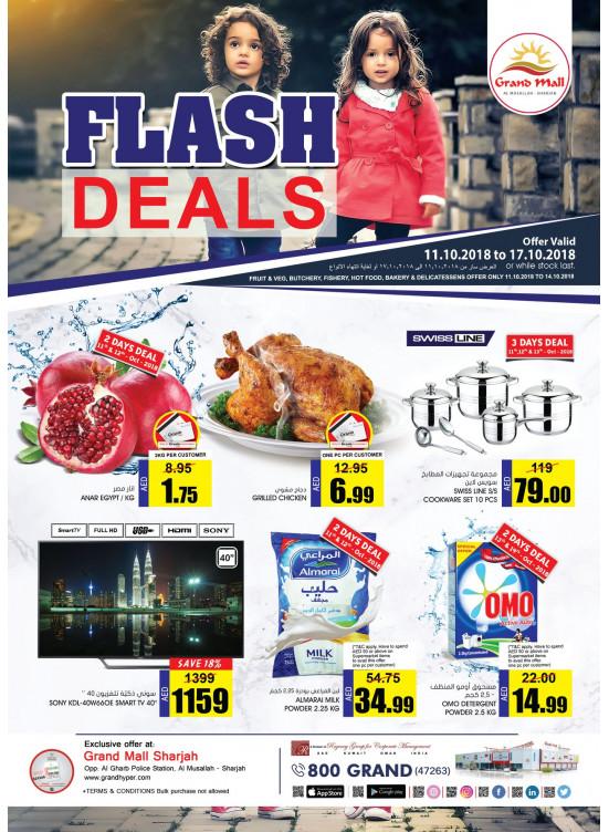 Flash Deals - Grand Mall Sharjah