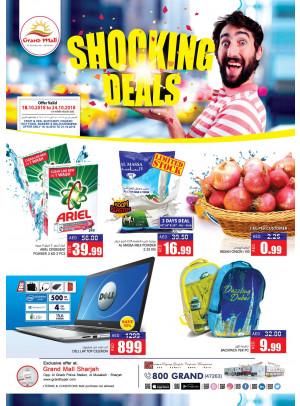 Shocking Deals - Grand Mall Sharjah