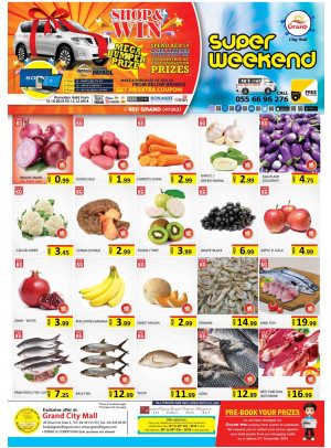 Super Weekend Offers - Grand City Mall