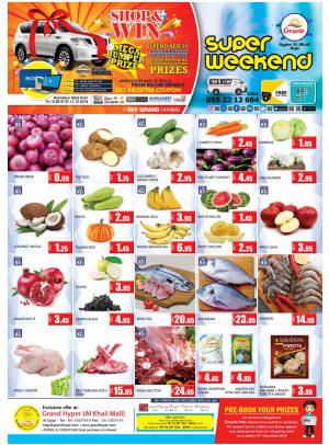 Super Weekend Offers - Grand Hyper Al Khail Mall