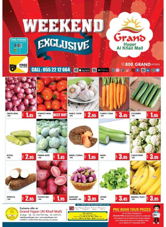 Exclusive Weekend Deals - Grand Hyper Al Khail Mall