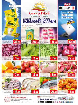Midweek Offers - Grand Mall Sharjah