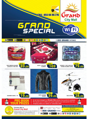 Grand Special Offers - Grand City Mall