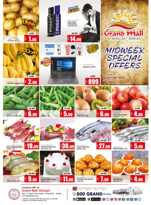 Midweek Special Offers - Grand Mall Sharjah
