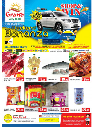 Weekend Bonanza - Grand City Mall