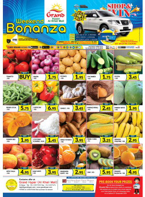 Weekend Bonanza - Grand Hyper Al Khail Mall