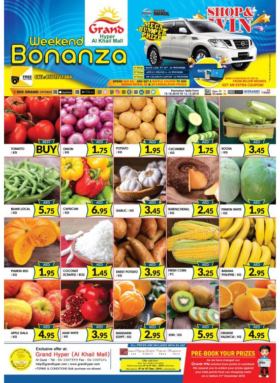 Weekend Bonanza - Grand Hyper Al Khail Mall