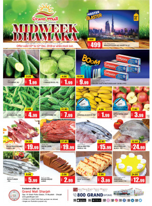 Midweek Dhamaka - Grand Mall Sharjah