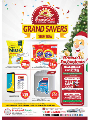 Grand Savers - Grand Mall Sharjah