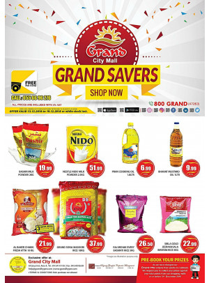Grand Savers - Grand City Mall