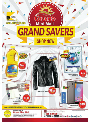 Grand Savers - Grand Mini Mall
