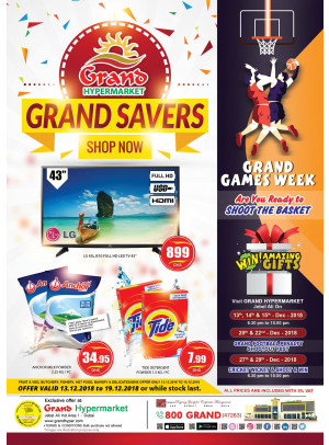Grand Savers - Grand Hypermarket Jebel Ali