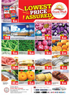 Lowest Prices - Grand Mall Sharjah